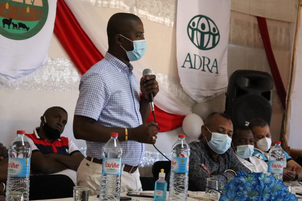 FNG_Lancement officel_Prise de parole du Gouverneur Toliara